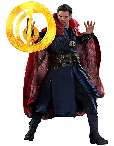 Hot Toys Figura Dr. Strange 31 cm. Vengadores: Infinity War. con Luz. Línea Movie Masterpiece. Escala 1:6