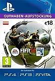 PSN  EA ultimate team Guthaben-Aufstockung 18 € [PSN Code für österreichisches Konto]