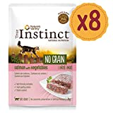 True Instinct No Grain Pack de 8 Pâtés Saumon aux Lègumes pour Chat 70 g