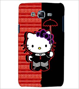 PrintDhaba Hello Kitty D-6071 Back Case Cover for SAMSUNG GALAXY J5 (Multi-Coloured)