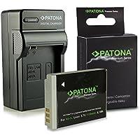 3en1 Cargador + Premium Batería NB-5L para Canon Digital Ixus 90 IS | 800 IS | 850 IS | 860 IS | 870 IS | 900 Ti | 950 IS | 960 IS | 970 IS | 980 IS | 990 IS - PowerShot S100 | S110 | SD770 IS | SD790 IS | SD800 IS | SD850 IS | SD870 IS | SD880 IS | SD890 IS y mucho más…