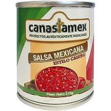 SALSA MEXICANA ROJA 215g - CANASTAMEX