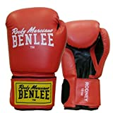 BENLEE Boxhandschuhe RODNEY PU Training Gloves - Red/Black Größe 10