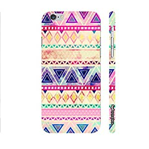 Apple IPhone 6 Plus Aztec Art 5 designer mobile hard shell case by Enthopia
