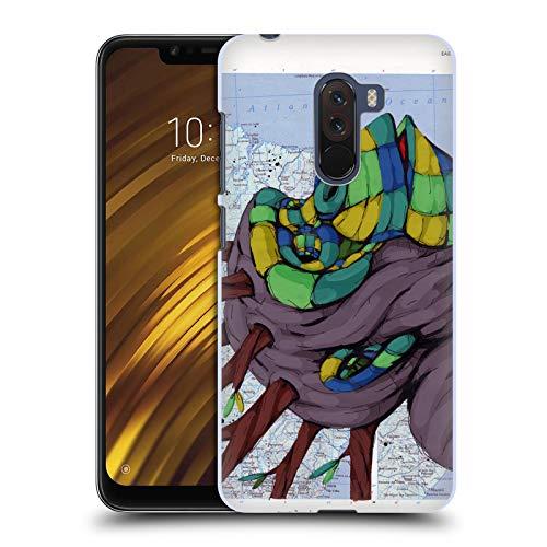 Head Case Designs Offizielle RIC Stultz Neugeist-Bewegung Tiere Ruckseite Hülle für Xiaomi Pocophone F1 / Poco F1
