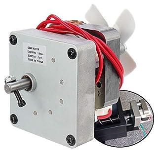 ChaRLes 120V 60Hz Ersatz Auger Motor Für Pit Boss Electric Wood Pellet Smoker Grill - 14:5U