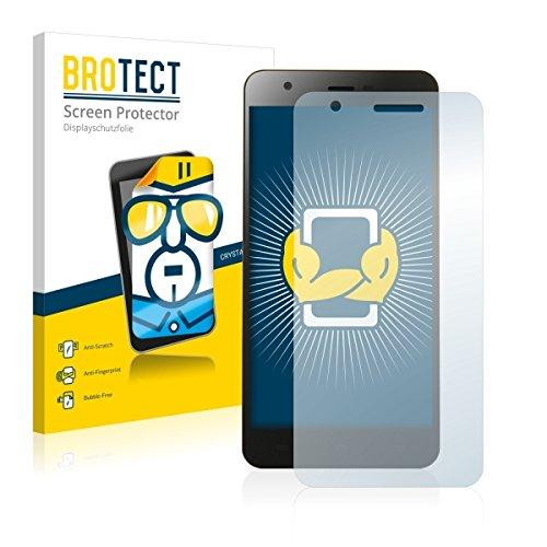 2X BROTECT HD Clear Displayschutz Schutzfolie für Jiayu S3 Pro (kristallklar, extrem Kratzfest, schmutzabweisend)