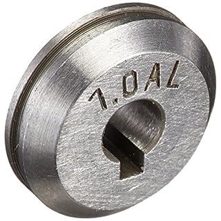 Abicor Binzel 961.0018 Alu-Antriebsrolle für ROBOWHPP MIG/MAG Schweißbrenner, U-Groove, 1,0 mm Drahtdurchmesser
