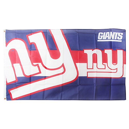 Forever Collectibles Flagge New York Giants, Mehrfarbig, FLG53UNGHORNG