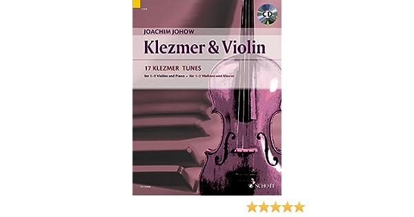 Klavier 1-2 Violinen Klezmer /& Violin Online-Audiodatei Kontrabass ad lib