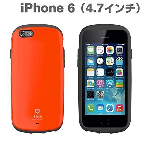 iFace Apple iPhone 6 Case Sensation Collection - Premium Slim Fit Dual Layer Protective Hard Case Apple New iPhone 6 Case 6 2014 Model (4.7 inch)(Green) Orange