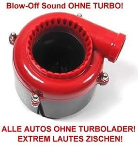 Blow Pop Off Sound OHNE TURBO für ALLE Fahrzeuge Benzin Diesel Zischen laut Neu