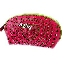 fe3471e63 Monedero zip 'Agatha Ruiz De La Prada'rosa verde (barniz).