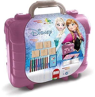 Disney Frozen Schrijfset koffer Frozen: 81-delig 10pieza(s) laápiz de Color - Lápiz de Color (10 Pieza(s), Fijo,, Chica, Púrpura) por Disney Frozen