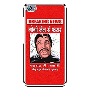 """Bhishoom Designer Printed 2D Transparent Hard Back Case Cover for """"Micromax Canvas Fire 4 A107"""" - Premium Quality Ultra Slim & Tough Protective Mobile Phone Case & Cover"""