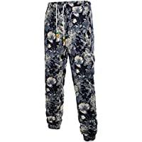 Cebbay Liquidación Pantalones Casuales para Hombres Algodón Largo Resistente a los arañazos Pantalones de harén de la Moda de la Calle