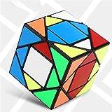 EisEyen 3x 3Pyramide Cubo Rubik Velocidad Especial Twist Puzzle Cubo Juguete Negro/Blanco