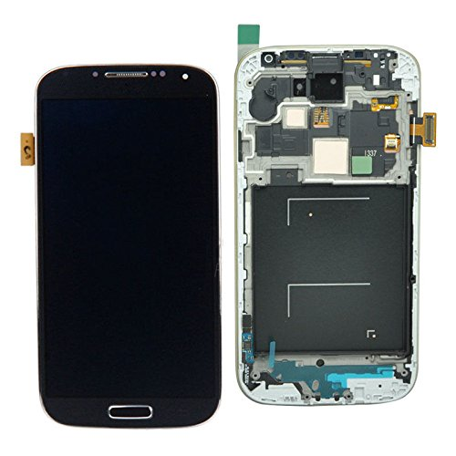 Samsung Galaxy S4 i337 M919 Black Touch Screen LCD Assembly Panel + Digitizer(With Frame)(Complete Package)  available at amazon for Rs.13072