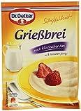 Produkt-Bild: Dr. Oetker Süße Mahlzeit Grießbrei, 92 g