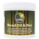Uulki® Natürliche Holzpflege - 2 in 1 Holzwachs & Holzöl für Schneidebretter,
