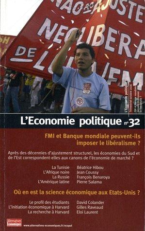 L'Economie politique, N° 32 : FMI e...