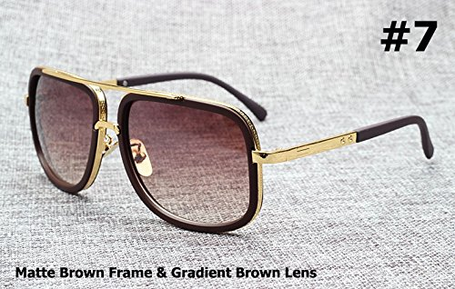 Art und Weise 18K Gold-Mach One Adam Lambert Flieger-Sonnenbrille Weinlese-Marke Design Sun Glasses M?nner Frauen