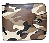 Best Designer Wallets - ForestFox Army Camouflage Dark Tan Brown Wallet Review