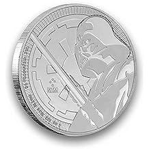 1 Onza Plata Moneda Star Wars 1 oz Plata 999 en la cápsula ...