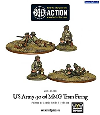 Us Army 50 Cal Hmg Team Miniatures