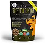 Pets Pro Digestion Support 500g Digestive Aid Probiotic Supplement for Dogs / Puppywith Verm X, Omega 3 for Dog Coats, Curcumin, Glutamin and Hemp