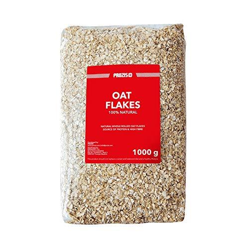 Prozis 100% Natural Whole Oat Flakes 1kg - Cereales Repletos d