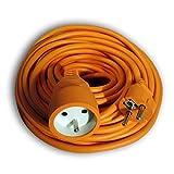 Prolongateur de jardin 16A HO5VV-F 3G1,5 Orange 25m