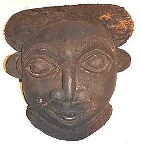 Ancien Masque Africain Tribal Bamoun ? Art Africain ? Cameroun