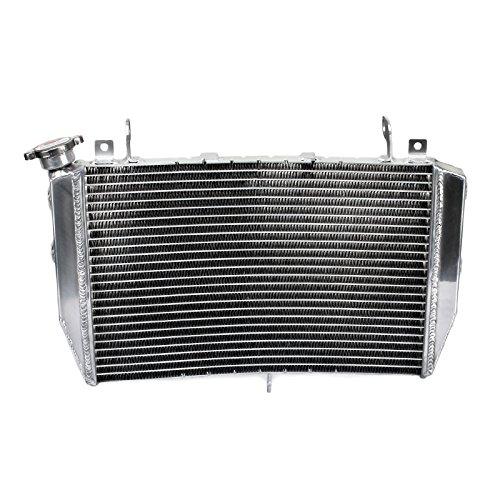 TARAZON Moto Enfriamiento del Radiador Enfriador aluminio para Yamaha YZF R1 2009-2014