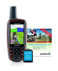 Garmin GPSmap 62s GPS-Gerät + Garmin Transalpin 2012 Pro grenzüberschreitende Freizeitkarte, auf microSD, M10-DE100-21