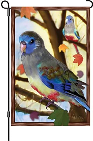 Premier 51233 Garden Brilliance Flag, Autumn Blue Bonne, 12 by 18-Inch