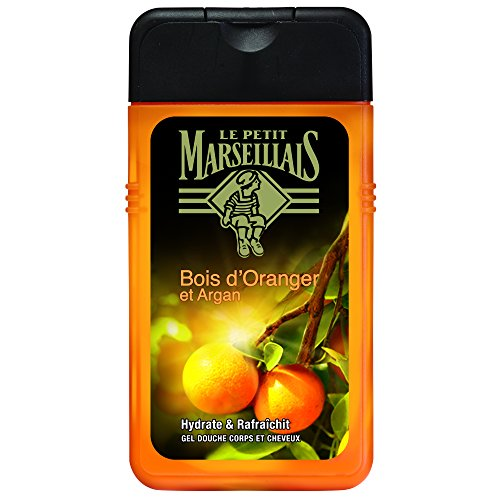 Le Petit Marseillais Man Gel Doccia Corpo e Capelli Bois D'Orange & Argan bottiglia da 250 ml - Confezione da 3