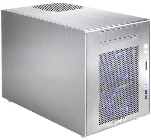 Lian-Li Li PC-V354A Mini-Tower Argento vane portacomputer