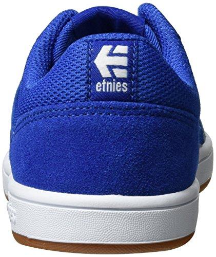 Etnies Unisex Kinder Kids Marana Skateboardschuhe Blau (Blue/White/Gum)