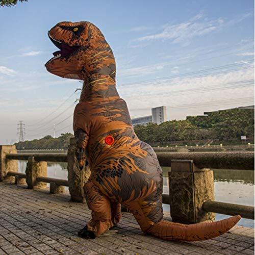 Aufblasbare Dinosa, Aufblasbare Dinosaurier, Aufblasbares Dinosaurierkostüm, Dinosaurier Tyrannosaurus Aufblasbarer Anzug Tyrannosaurus Showkostüm Tier Mount Road Show Bar Requisiten Blauer Tyrannosau