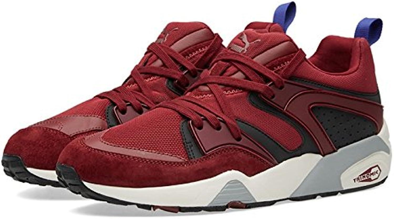 Puma - Zapatillas para Hombre Rojo Granate 28 EU