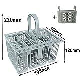 SPARES2GO Cubiertos cesta cage, asa y tapa + Soporte para Tablet para Candy...