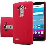 Meimeiwu Frosted Super Slim Matte Hard Cover Case carcasa de piel Funda Case para LG G4 Beat G4S Rojo