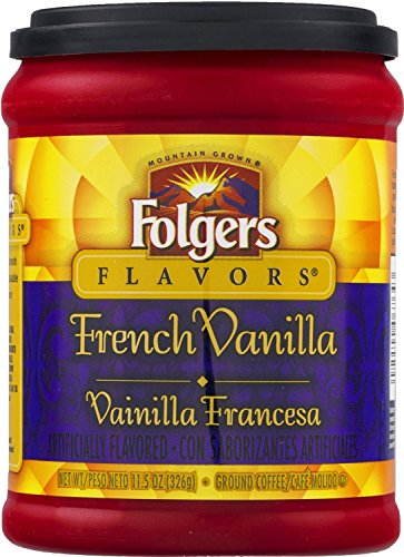 folgers-flavors-french-vanilla-ground-coffee-1-x-326g-tub-2-pack-american-import