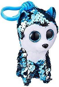 Sconosciuto- TY 35305-Husky Slush Llavero Multicolor, S, 35305