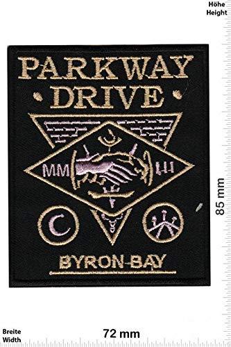 LipaLipaNa Parkway Drive - Metalcore-Band Aufnäher Besticktes Patch zum Aufbügeln Applique Souvenir Zubehör