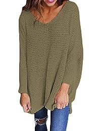4108433031 V Camisetas Mujer Cuello Ropa es Amazon a4WqAzwpBa