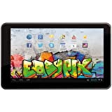 Easypix EP770 Graffiti 17,8 cm (7'') Tablette Tactile (Rockchip RK3066 Cortex A9, Dual Core, 1,4GHz, 1Go RAM, 8Go HDD, Android Ecran tactile) Argent