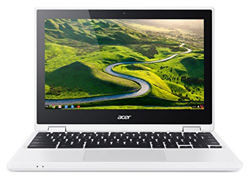 Acer Chromebook R 11 CB5 – 132T C732 29,5 cm (11,6 pollici HD) Convertible Notebook (Intel Dual Core N3150, Google Chrome OS) bianco 32 GB (eMMC)