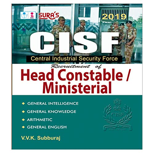 CISF Head Constable and Ministerial Exam Books